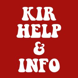KIR Help & Info